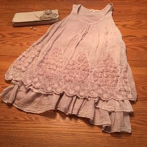 Tops - NWOT Tunic Short Sleeved Top